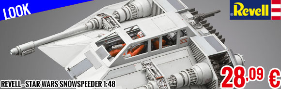 Look - Revell - Star Wars Snowspeeder 1:48