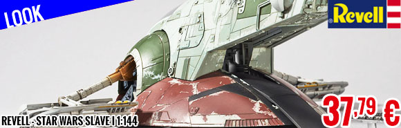 Look - Revell - Star Wars Slave I 1:144