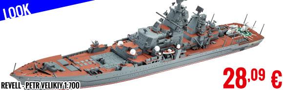 Look - Revell - Petr Velikiy 1:700