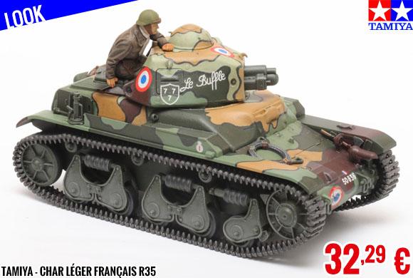 Look - Tamiya - Char Léger Français R35