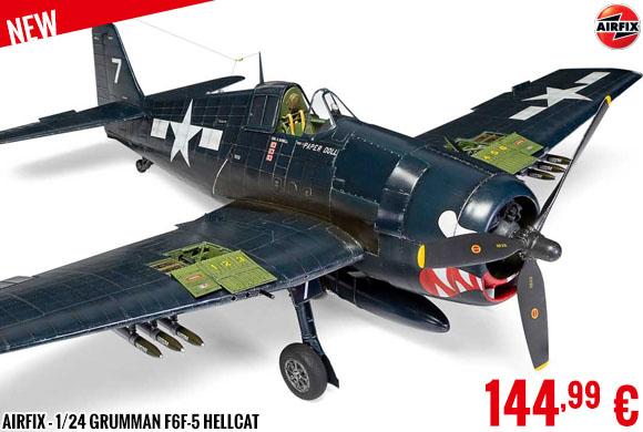 New - Airfix - 1/24 Grumman F6F-5 Hellcat
