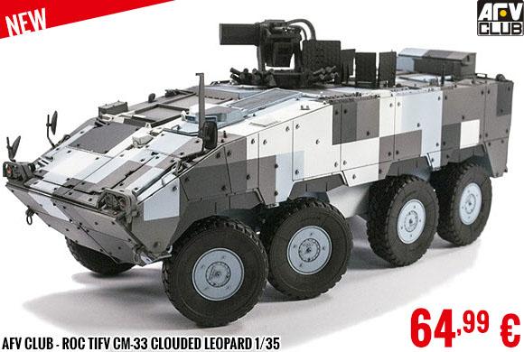 New - AFV Club - ROC TIFV CM-33 Clouded Leopard 1/35