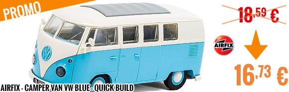 Promo - Airfix - Camper Van VW Blue - Quick Build