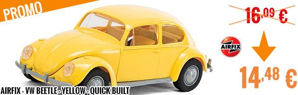Promo - Airfix - VW Beetle - yellow - Quick Built