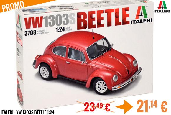 Promo - Italeri - VW 1303S Beetle 1:24