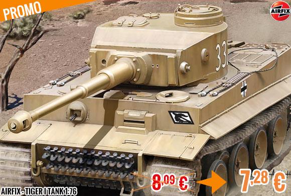 Promo - Airfix - Tiger I Tank 1:76