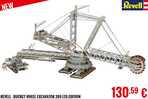 New - Revell - Bucket wheel excavator 289 Ltd.edition
