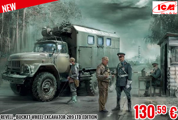 New - ICM  - 1/35 Chernobyl Radiation Monitoring Station