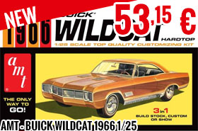 New - AMT - Buick Wildcat 1966 1/25
