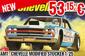 New - AMT - Chevelle Modified Stocker 1/25