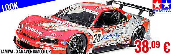 Look - Tamiya - Xanavi Nismo GT-R