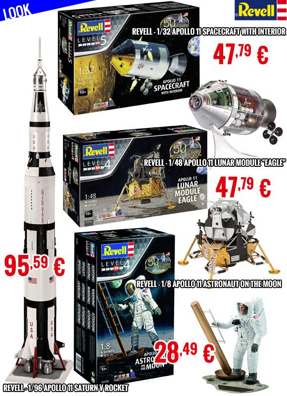 Look - Revell Apollo 11 series