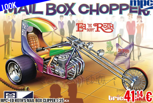 Look - MPC - Ed Roth's Mail Box Clipper 1/25