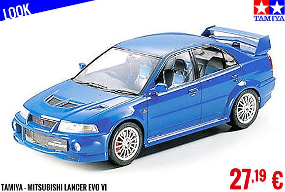 Look - Tamiya - Mitsubishi Lancer Evo VI