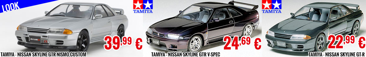 Look - Tamiya - Nissan Skyline GTR