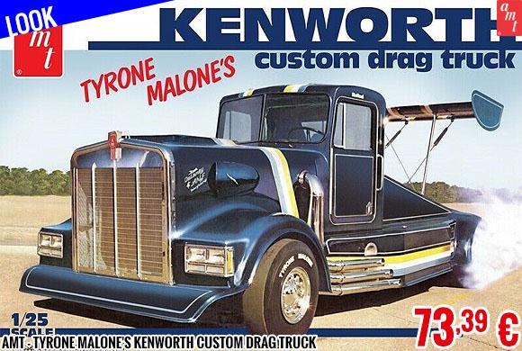 Look - AMT - Tyrone Malone's Kenworth Custom Drag Truck