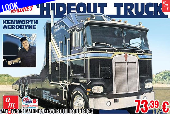 Look - AMT - Tyrone Malone's Kenworth Hideout Truck