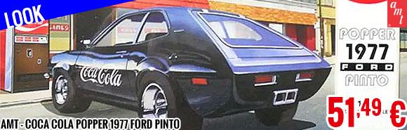 Look - AMT - Coca Cola Popper 1977 Ford Pinto