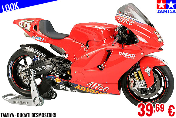Look - Tamiya - Ducati Desmosedici