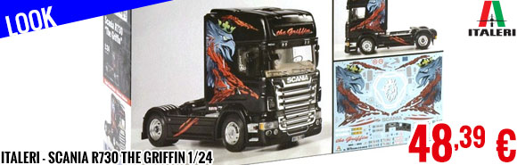 Look - Italeri - Scania R730 The Griffin 1/24