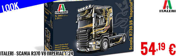 Look - Italeri - Scania R370 V8 Imperial 1/24