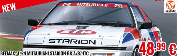 New - Beemax - 1/24 Mitsubishi Starion GR.A '87 JTC
