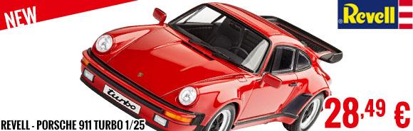 New - Revell - Porsche 911 Turbo 1/25