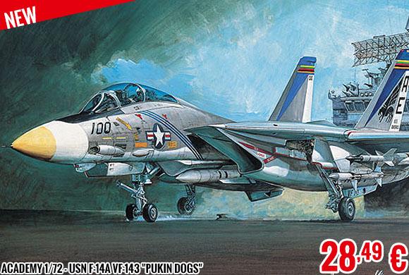 New - Academy 1/72 - USN F-14A VF-143