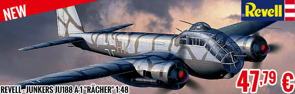 New - Revell - Junkers Ju188 A-1