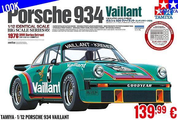 Look - Tamiya - 1/12 Porsche 934 Vaillant