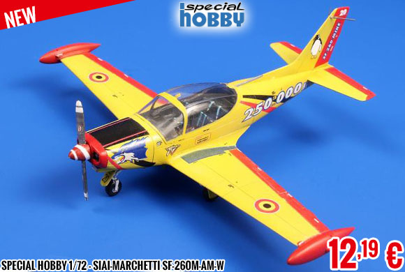 New - Special Hobby 1/72 - SIAI-Marchetti SF-260M-AM-W