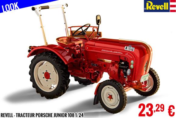 Look - Revell - Tracteur Porsche Junior 108 1/24