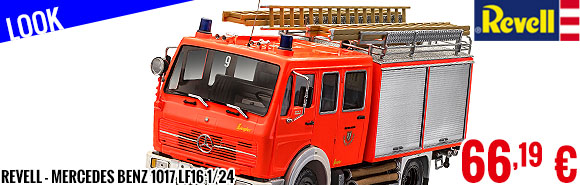 Look - Revell - Mercedes Benz 1017 LF16 1/24