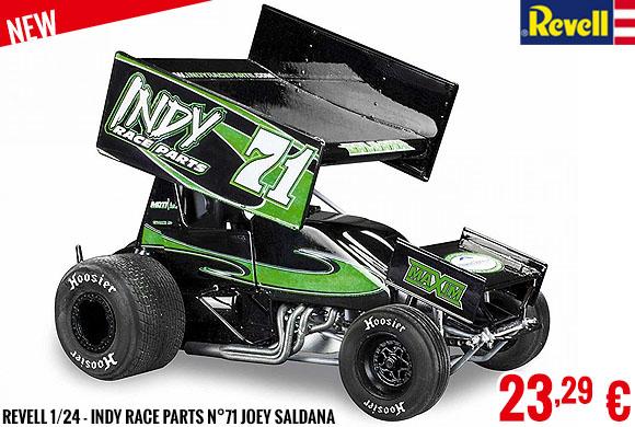 New - Revell 1/24 - Indy Race Parts n°71 Joey Saldana