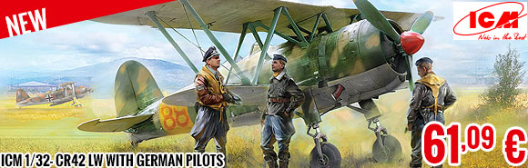 New -  ICM 1/32- CR42 LW with German Pilots
