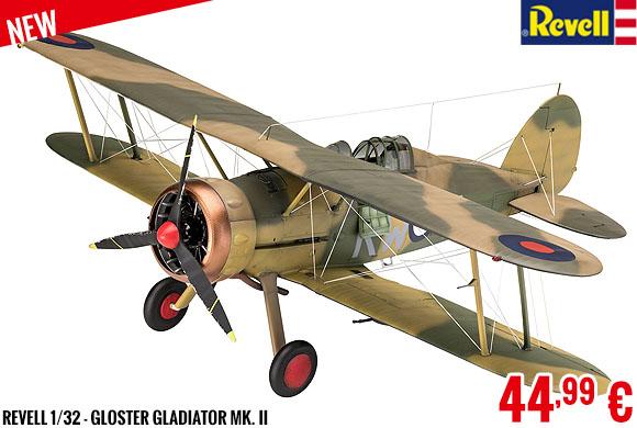 New - Revell 1/32 - Gloster Gladiator Mk. II