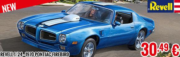 New - Revell 1/24 - 1970 Pontiac Firebird