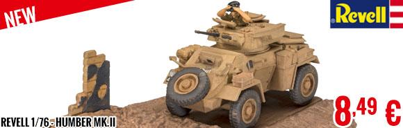 New - Revell 1/76 - Humber Mk.II