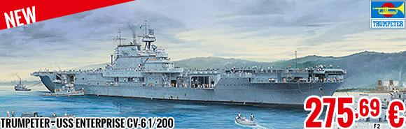 New - Trumpeter - USS Enterprise CV-6 1/200