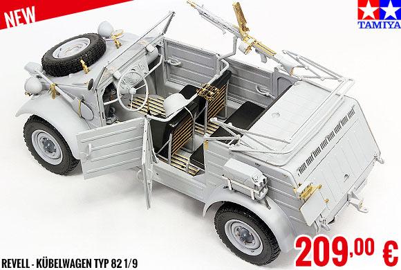 New - Revell - Kübelwagen Typ 82 1/9