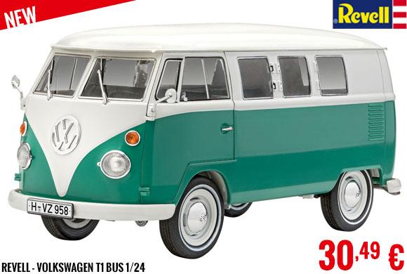 New - Revell - Volkswagen T1 Bus 1/24