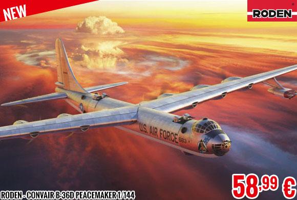 New - Roden - Convair B-36D Peacemaker 1/144