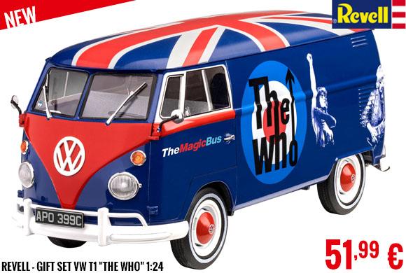 New - Revell - Gift Set VW T1