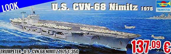 Look - Trumpeter - U.S. CVN-68 Nimitz 1975 1/350