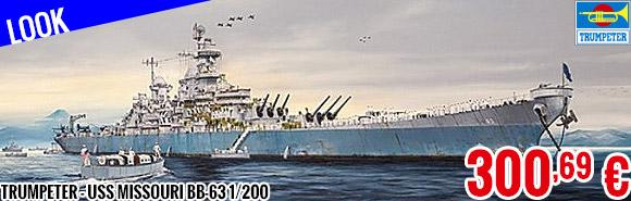 Look - Trumpeter - USS Missouri BB-63 1/200
