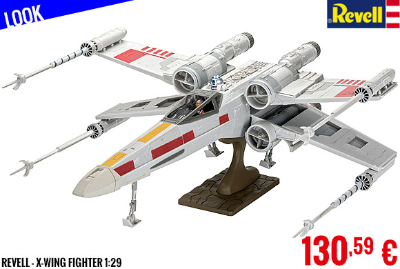 Look - Revell - X-Wing Fighter 1:29