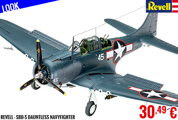 Look - Revell - SBD-5 Dauntless Navyfighter
