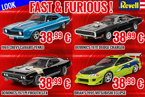 Look - Revell - Fast & Furious