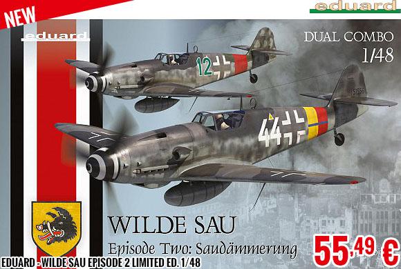 New - Eduard - Wilde Sau Episode 2 Limited Ed. 1/48