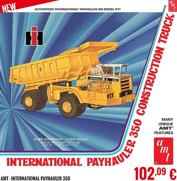 New - AMT - International Payhauler 350